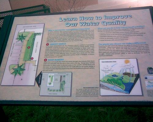 Grassy Swale Public Info, RWC, California